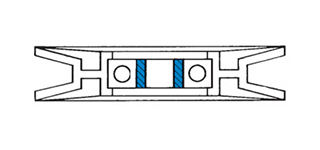 Bore Mounting Adapter Drawing