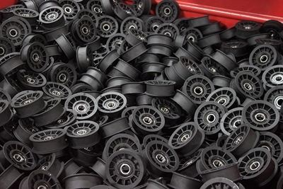 Composite plastic Pulley Wheels