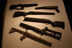Injection Molded Rifle Stocks