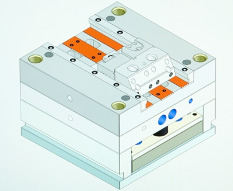 Mold Tooling CAD Drawing