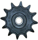 Precision molded plastic sprockets