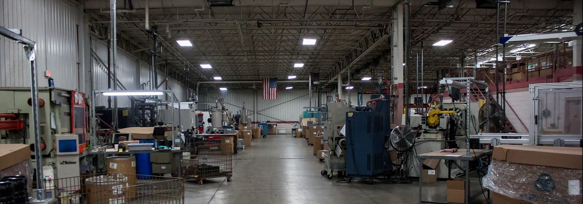 Plastic Manufacturing Facility in Hartland, Wisconsin